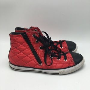 Converse Red High Top Size 5 Men / 7 Women 1129